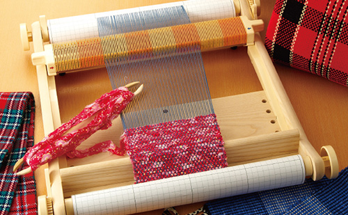 手織り機「咲きおり」