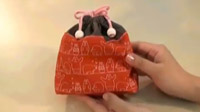入園入学グッズづくり コップ袋(5)