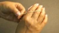 タティングレースリングの編み方