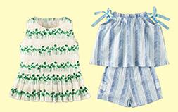 実物大型紙で作る!真夏の女の子服