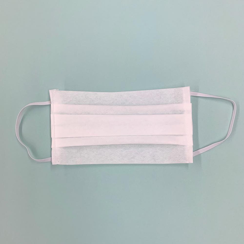 型紙用不織布でつくる 使い捨てマスクカバー(2枚重ね)