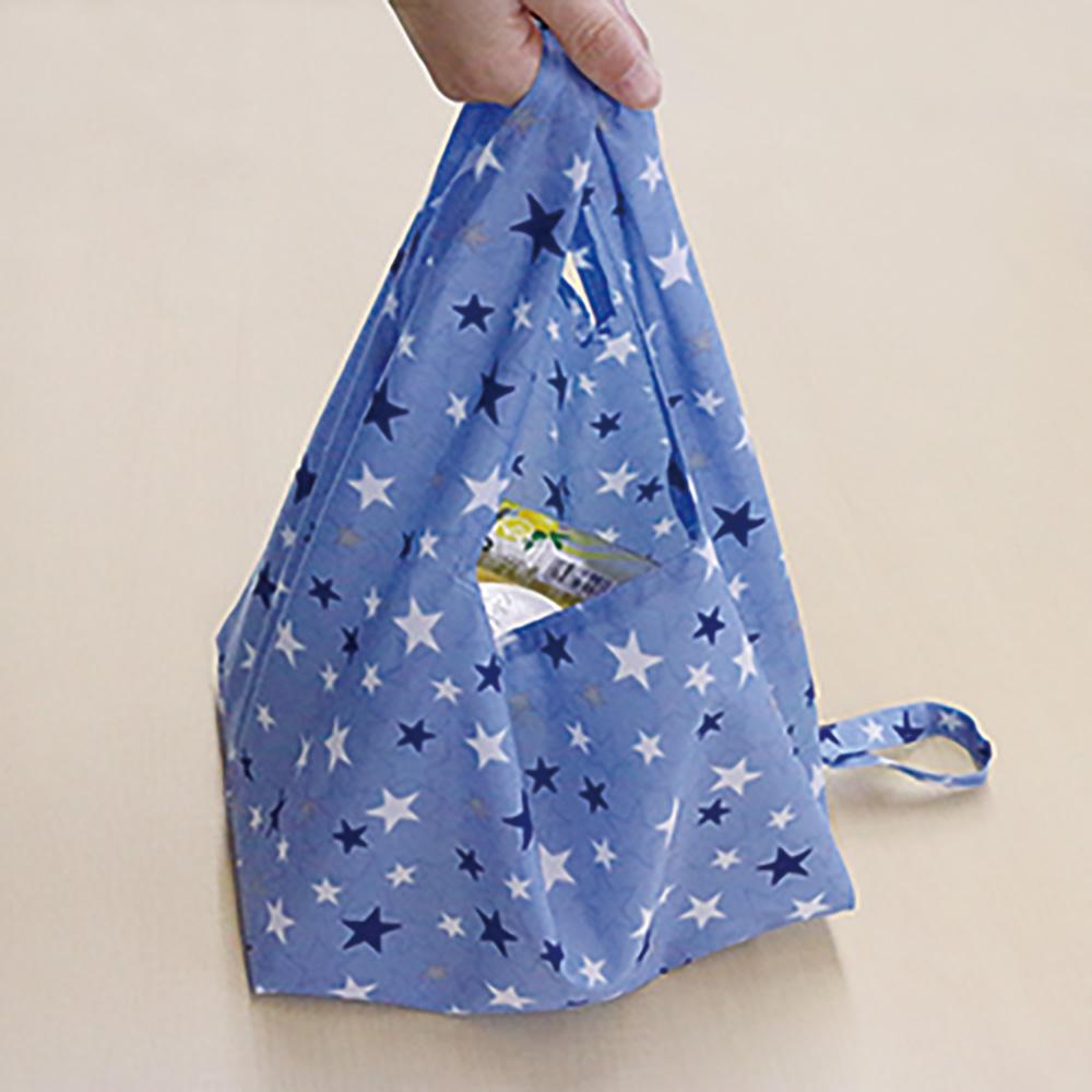 バッグ・帽子用ポリ芯を使った お弁当が安定するエコバッグ
