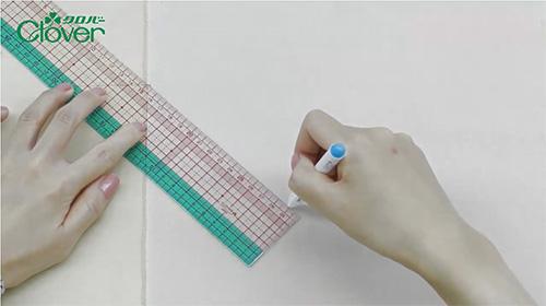 道具の使い方5 方眼定規の使い方